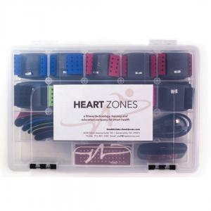 Heart Zones Plastic storage case